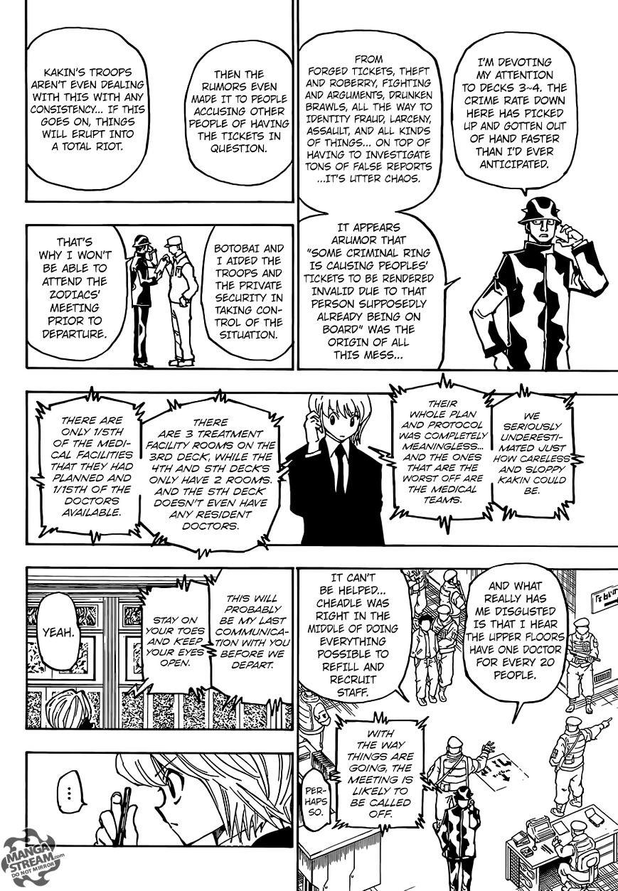 Hunter X Hunter Chapter 358  Online Free Manga Read Image 15