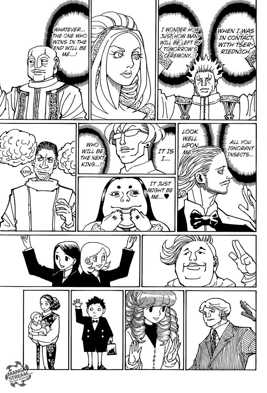 Hunter X Hunter Chapter 358  Online Free Manga Read Image 7