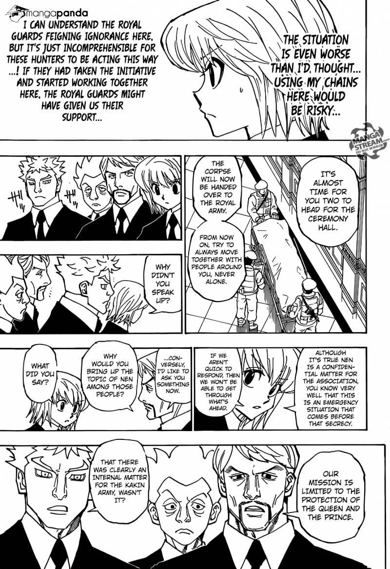 Hunter X Hunter Chapter 359  Online Free Manga Read Image 10