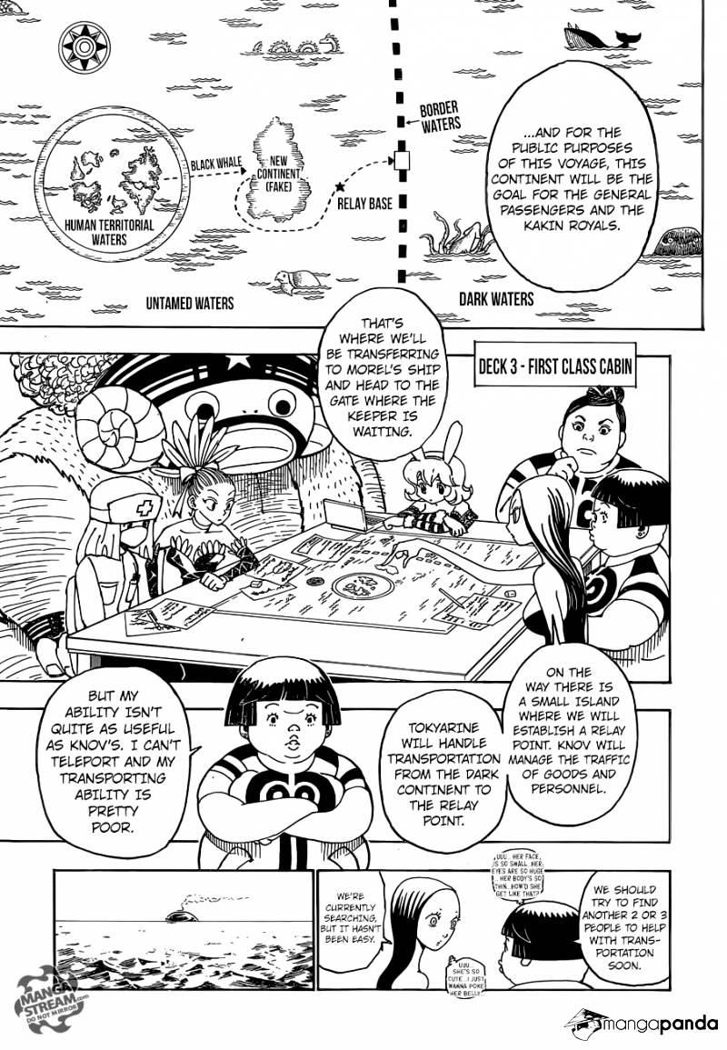 Hunter X Hunter Chapter 359  Online Free Manga Read Image 4