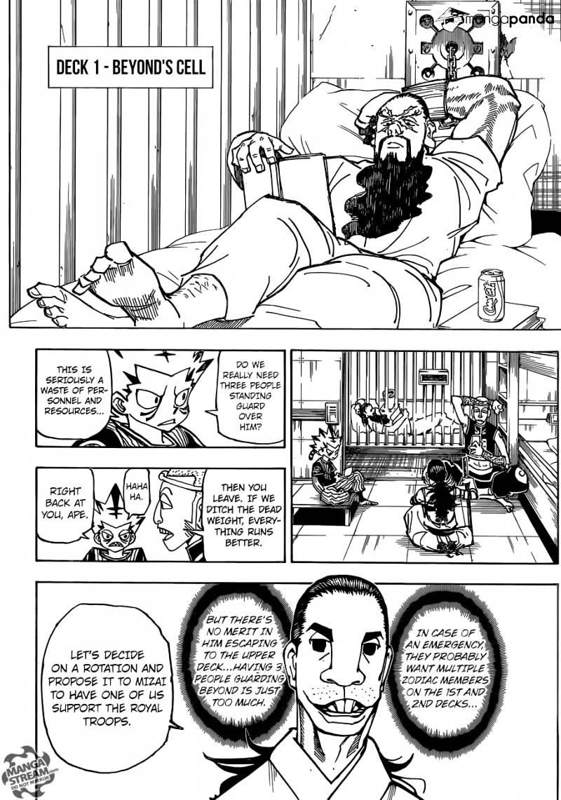 Hunter X Hunter Chapter 359  Online Free Manga Read Image 5