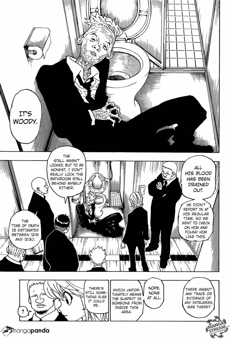 Hunter X Hunter Chapter 359  Online Free Manga Read Image 8