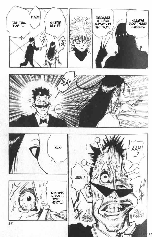 Hunter X Hunter Chapter 36  Online Free Manga Read Image 11