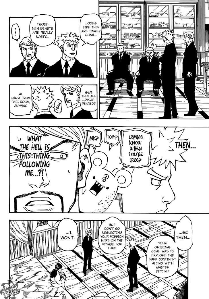 Hunter X Hunter Chapter 360  Online Free Manga Read Image 18