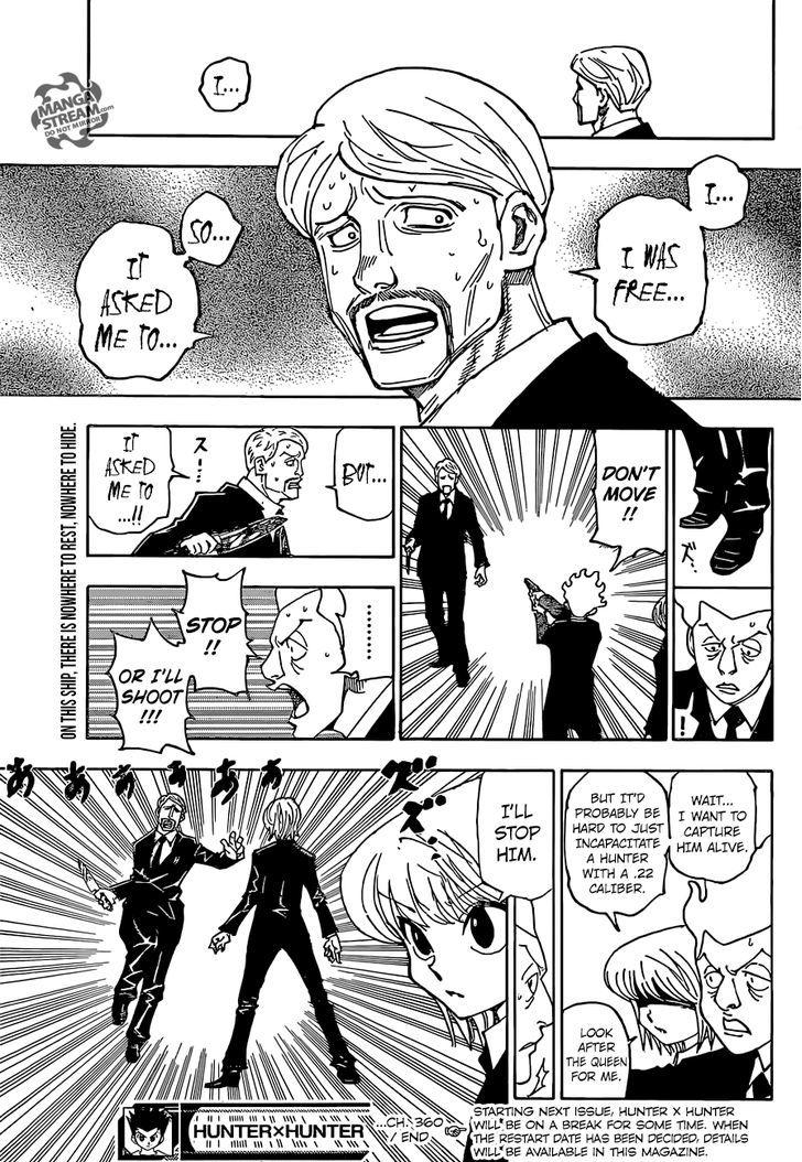 Hunter X Hunter Chapter 360  Online Free Manga Read Image 21