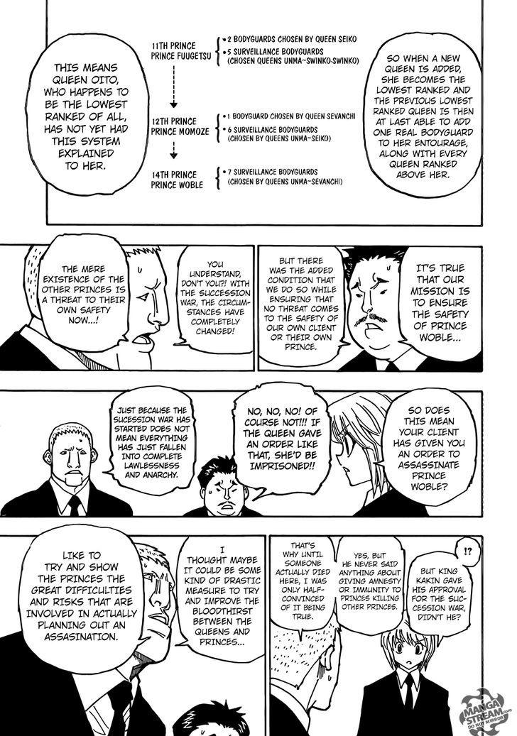Hunter X Hunter Chapter 360  Online Free Manga Read Image 8