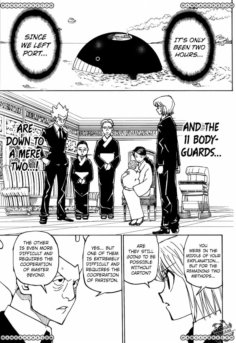 Hunter X Hunter Chapter 361  Online Free Manga Read Image 17