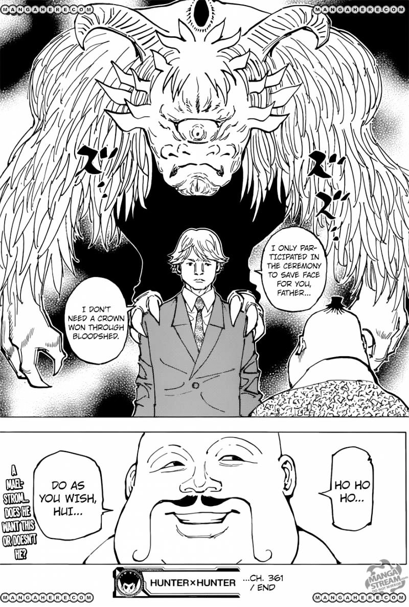 Hunter X Hunter Chapter 361  Online Free Manga Read Image 21