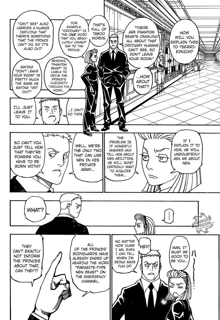 Hunter X Hunter Chapter 362  Online Free Manga Read Image 10