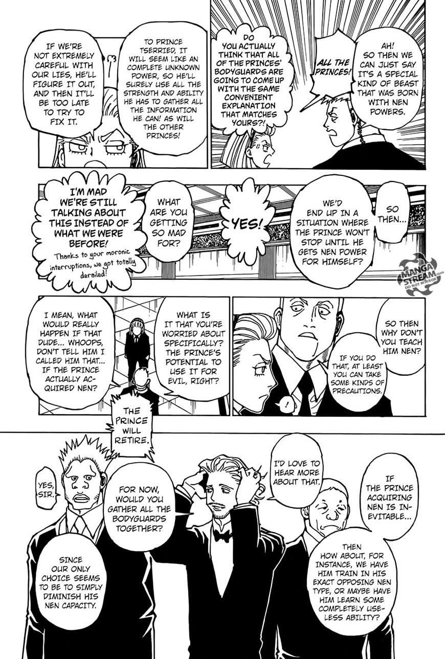 Hunter X Hunter Chapter 362  Online Free Manga Read Image 11