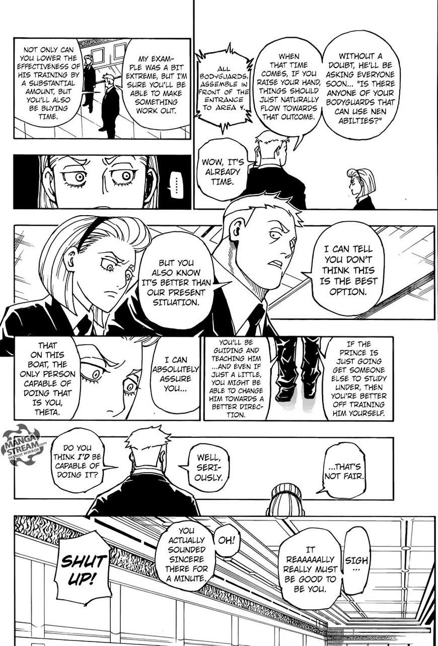 Hunter X Hunter Chapter 362  Online Free Manga Read Image 12