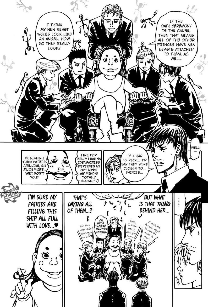 Hunter X Hunter Chapter 362  Online Free Manga Read Image 15