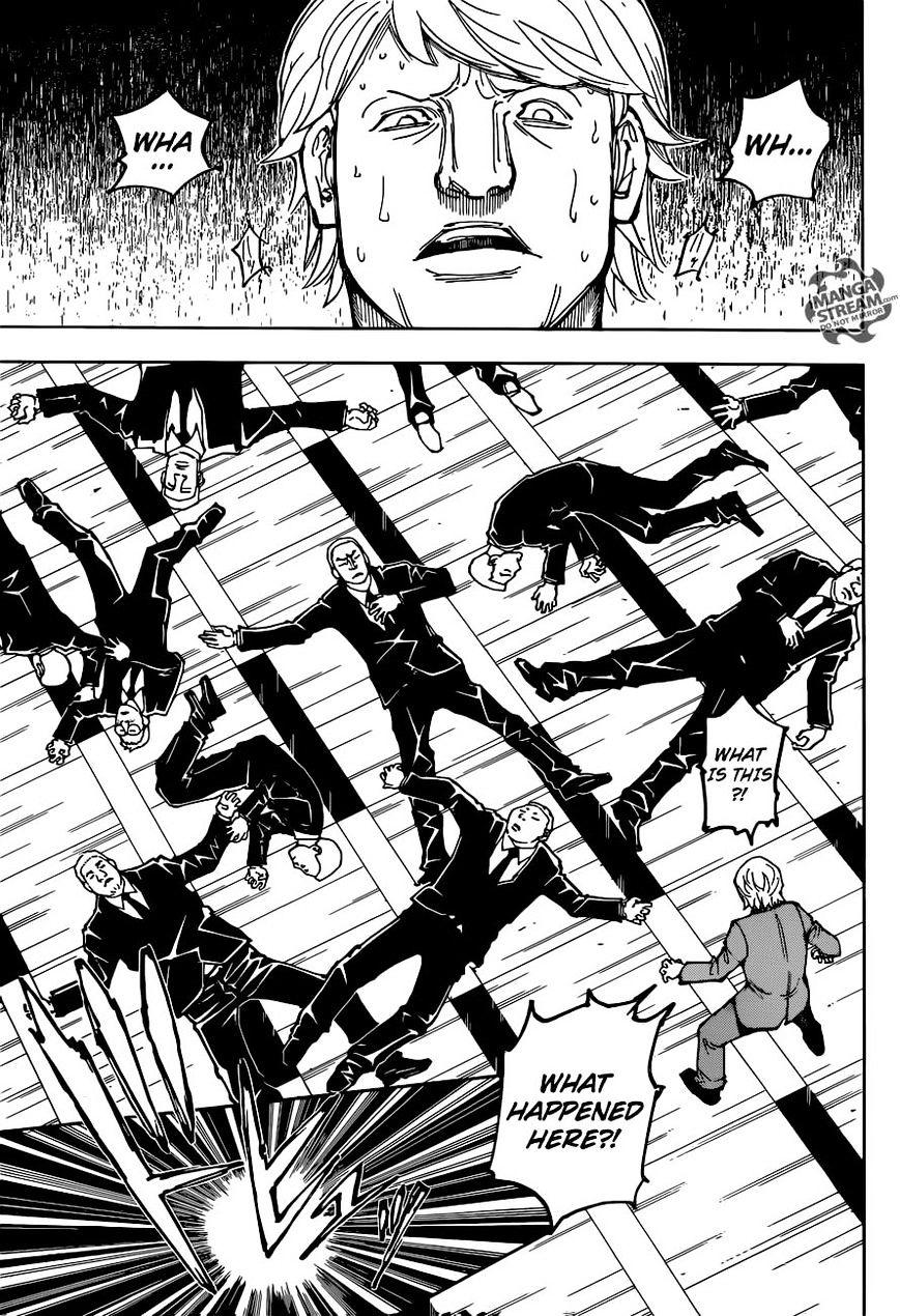 Hunter X Hunter Chapter 362  Online Free Manga Read Image 17