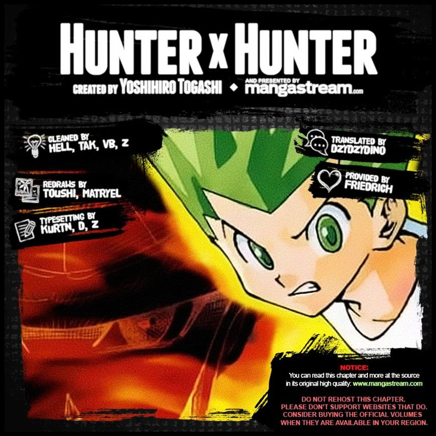 Hunter X Hunter Chapter 362  Online Free Manga Read Image 23