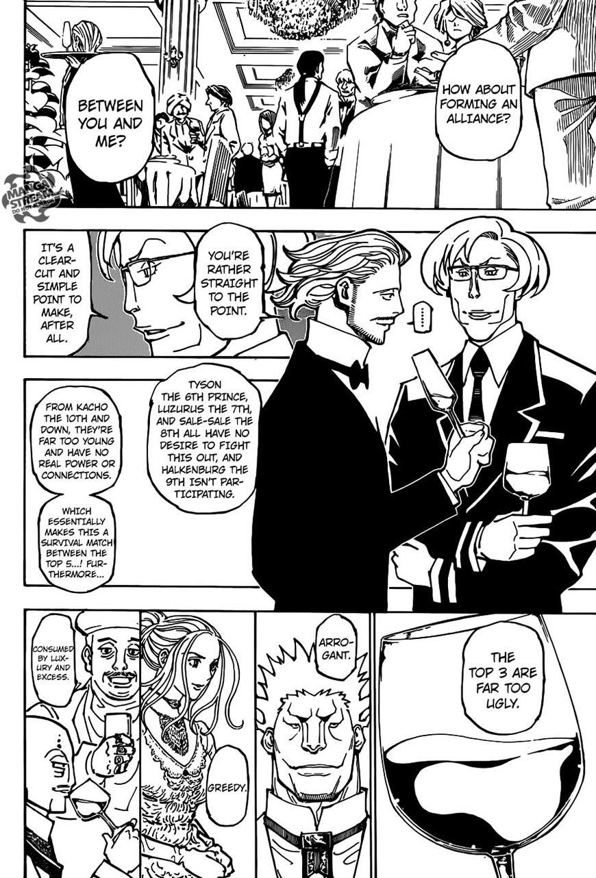 Hunter X Hunter Chapter 362  Online Free Manga Read Image 4