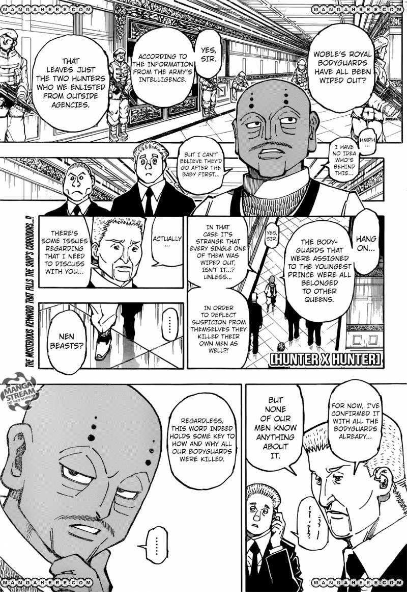 Hunter X Hunter Chapter 363  Online Free Manga Read Image 1