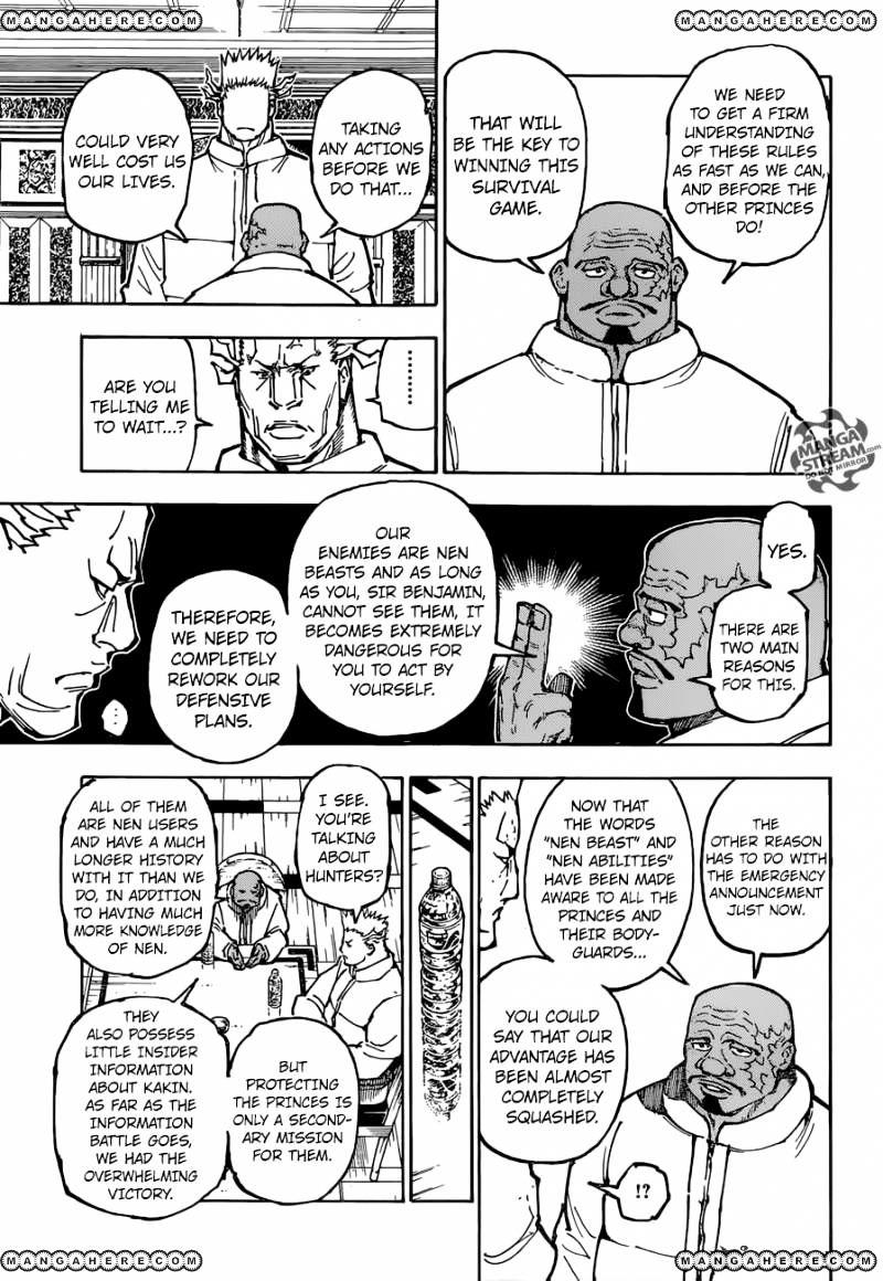 Hunter X Hunter Chapter 363  Online Free Manga Read Image 10