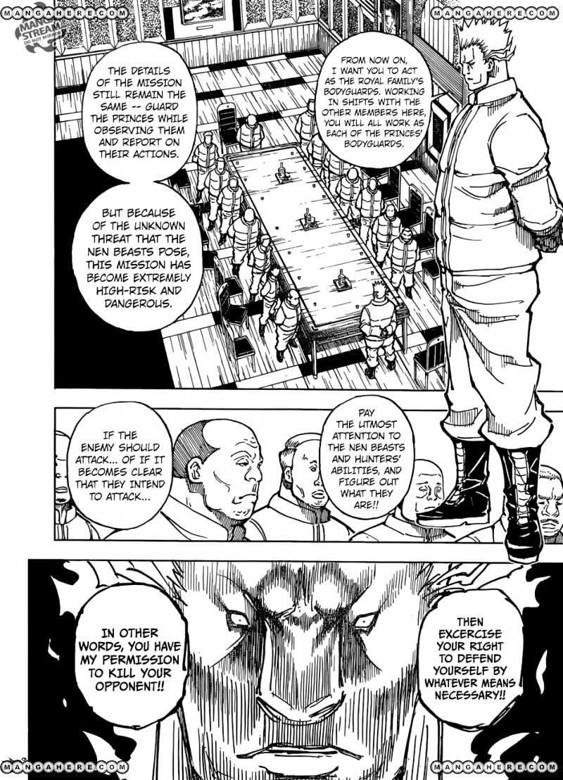 Hunter X Hunter Chapter 363  Online Free Manga Read Image 13