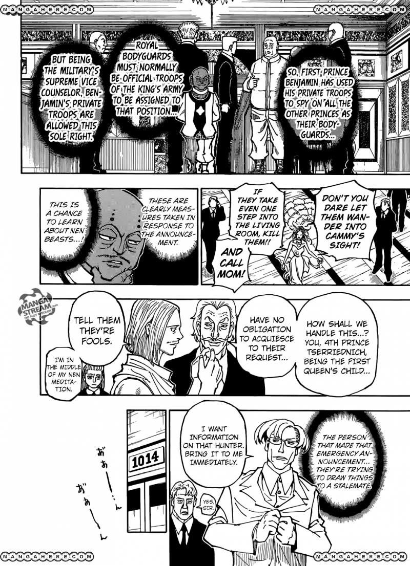 Hunter X Hunter Chapter 363  Online Free Manga Read Image 15