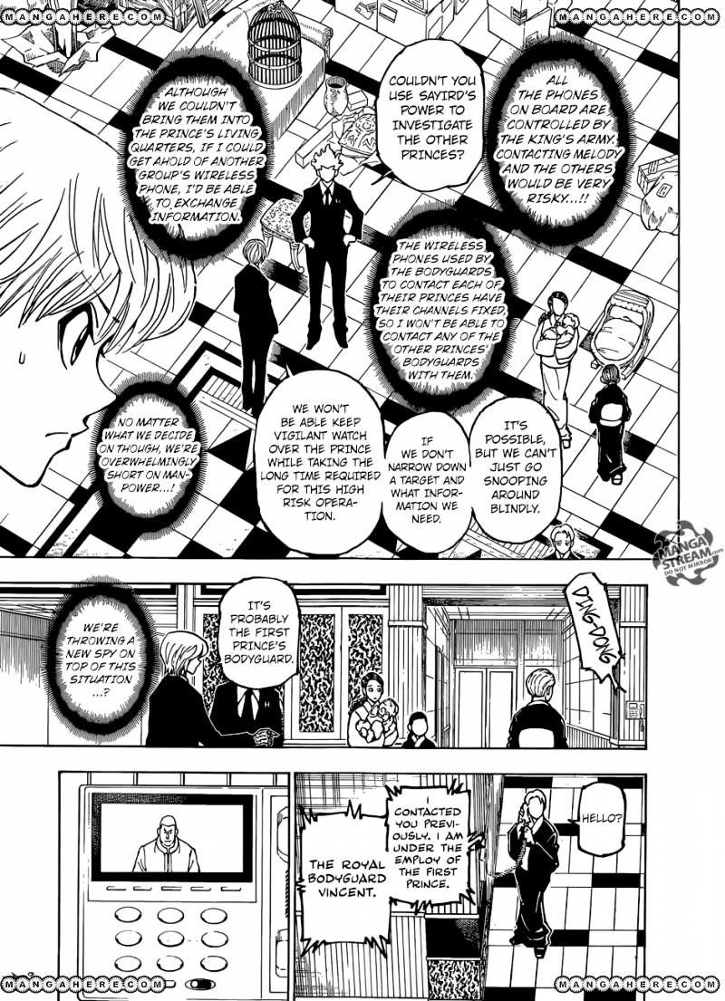 Hunter X Hunter Chapter 363  Online Free Manga Read Image 16
