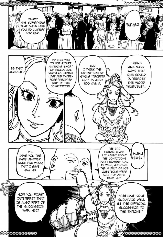 Hunter X Hunter Chapter 363  Online Free Manga Read Image 3