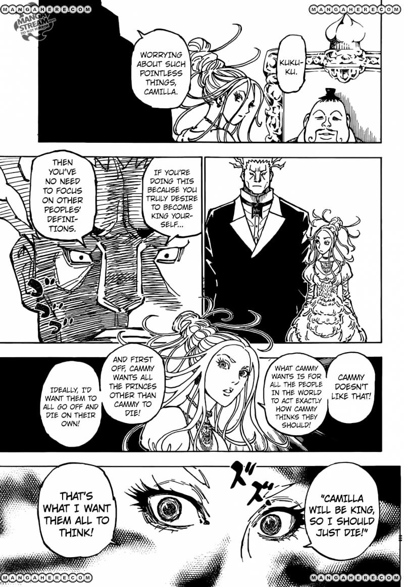 Hunter X Hunter Chapter 363  Online Free Manga Read Image 4