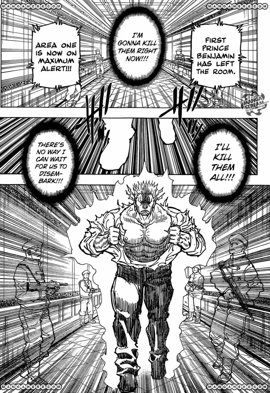 Hunter X Hunter Chapter 363  Online Free Manga Read Image 8