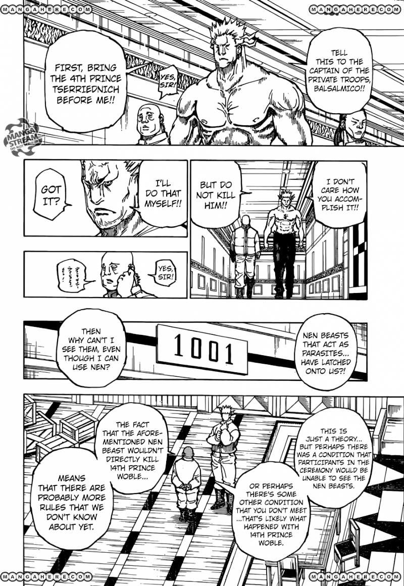 Hunter X Hunter Chapter 363  Online Free Manga Read Image 9