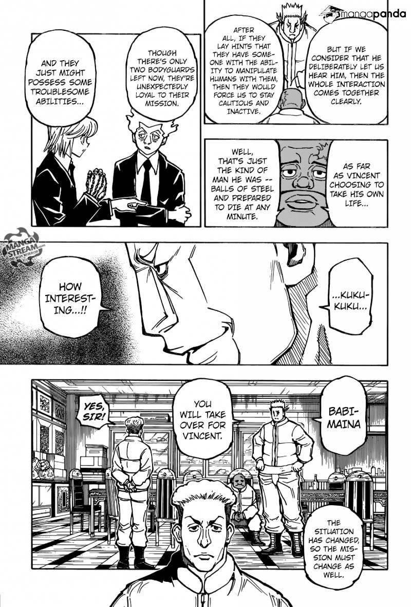 Hunter X Hunter Chapter 364  Online Free Manga Read Image 16