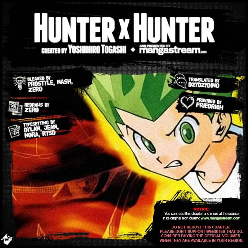 Hunter X Hunter Chapter 364  Online Free Manga Read Image 2