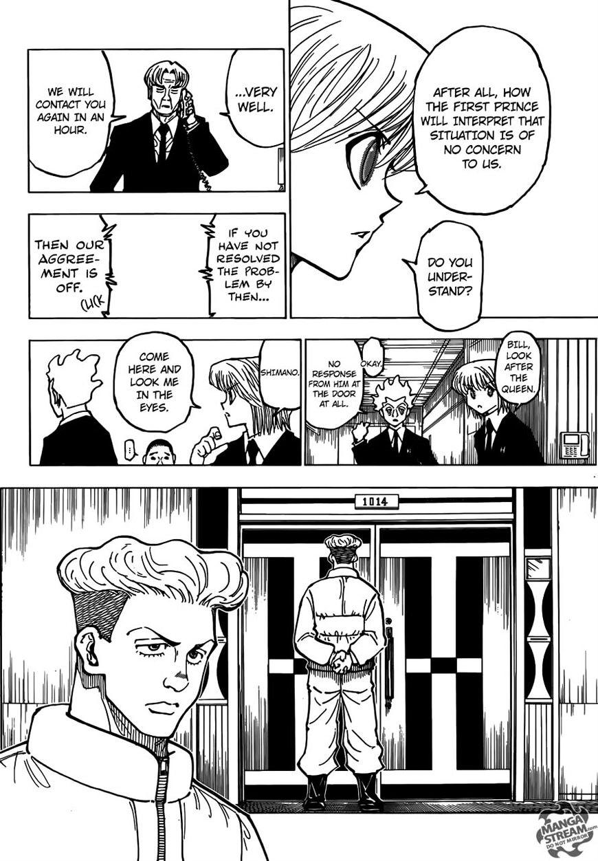 Hunter X Hunter Chapter 365  Online Free Manga Read Image 10