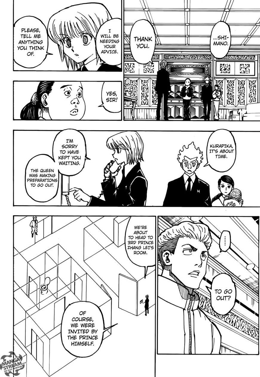 Hunter X Hunter Chapter 365  Online Free Manga Read Image 14