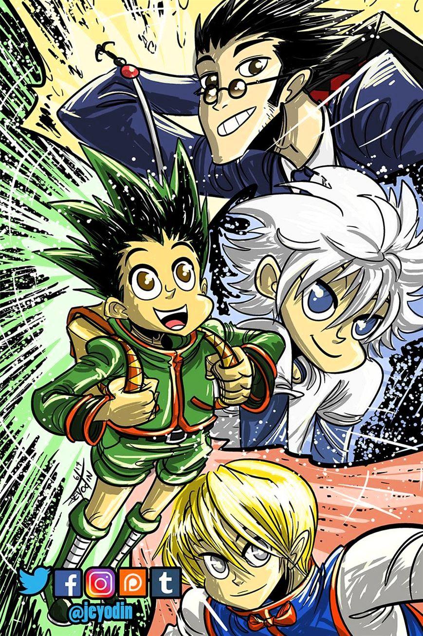 Hunter X Hunter Chapter 365  Online Free Manga Read Image 23