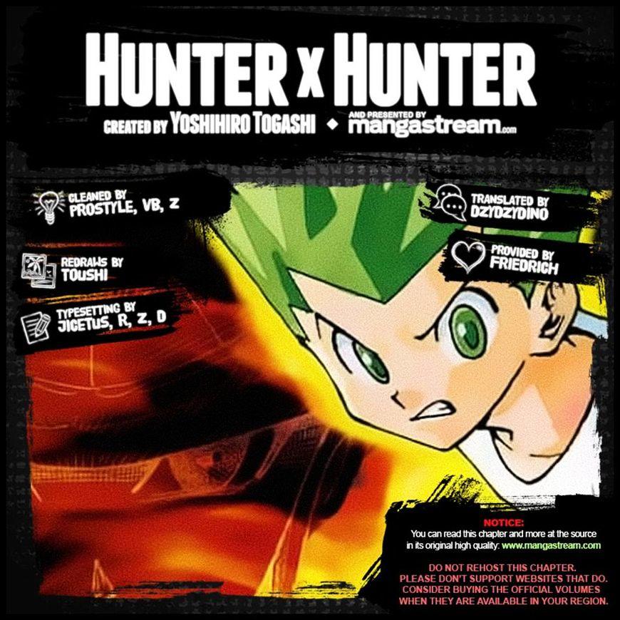 Hunter X Hunter Chapter 365  Online Free Manga Read Image 24