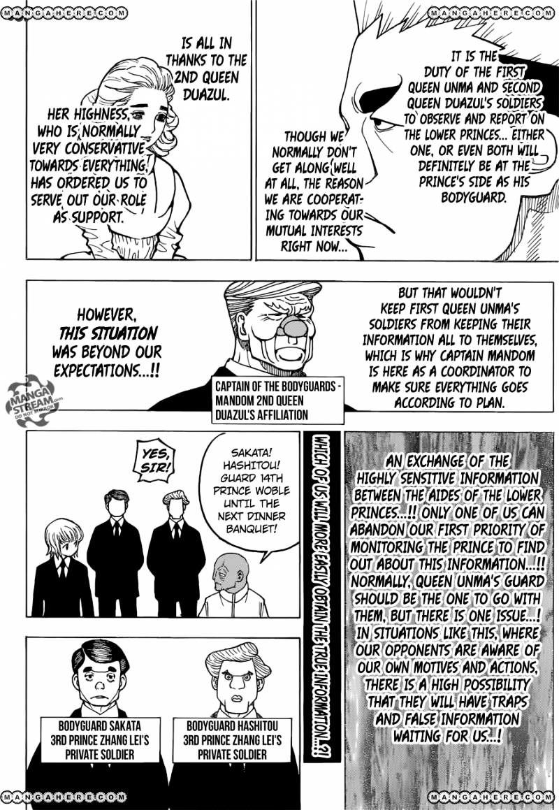 Hunter X Hunter Chapter 366  Online Free Manga Read Image 13
