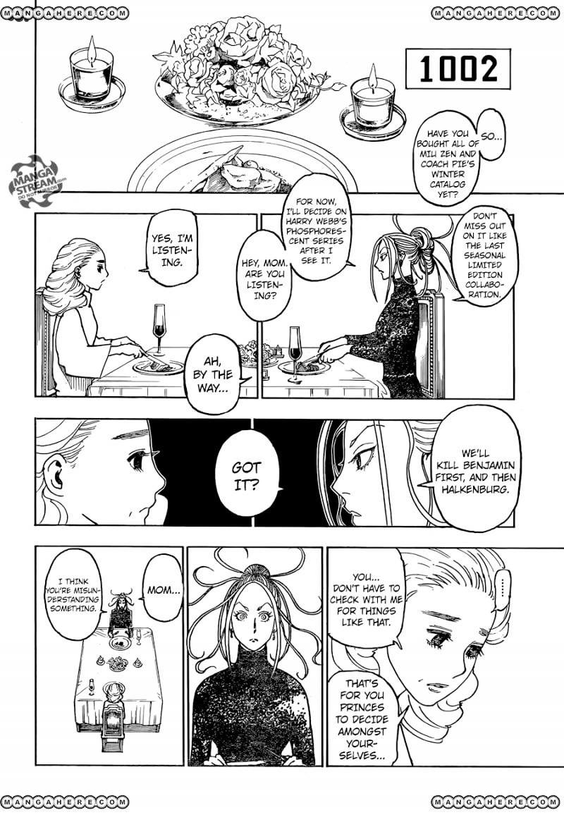 Hunter X Hunter Chapter 366  Online Free Manga Read Image 15