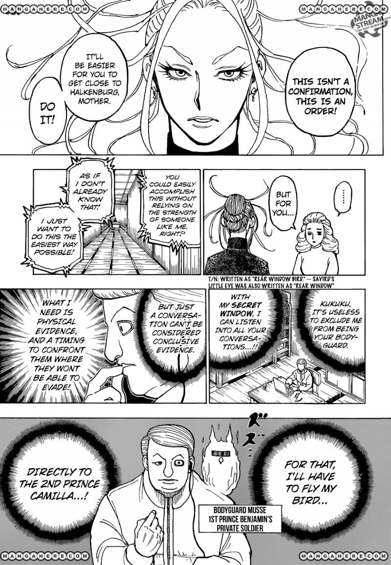 Hunter X Hunter Chapter 366  Online Free Manga Read Image 16