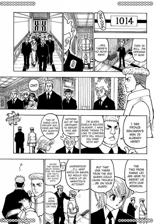Hunter X Hunter Chapter 366  Online Free Manga Read Image 18