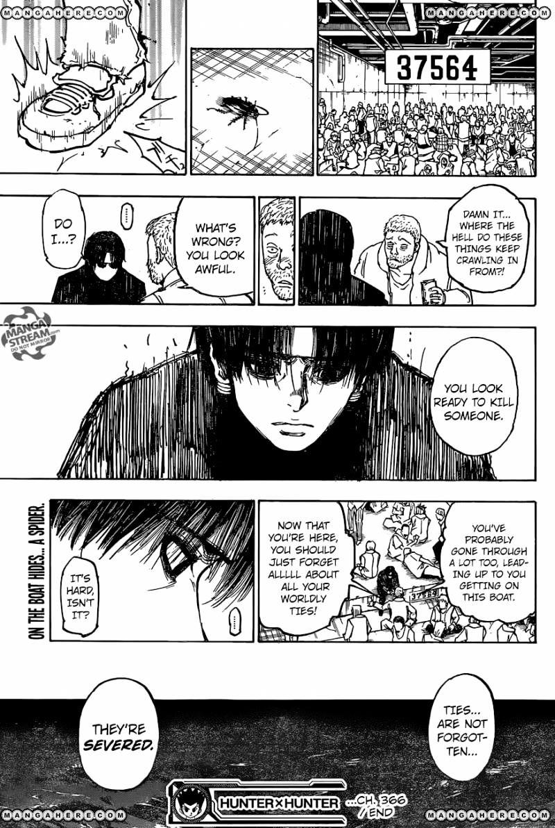 Hunter X Hunter Chapter 366  Online Free Manga Read Image 20
