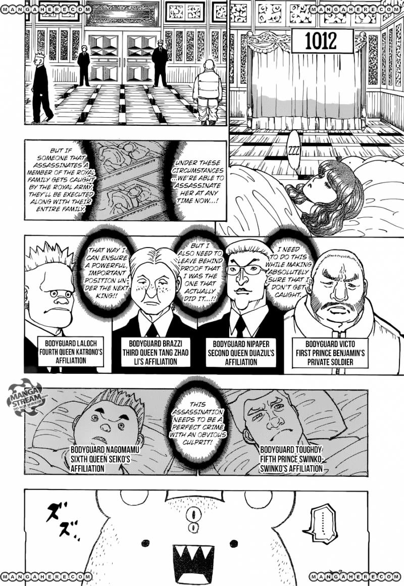 Hunter X Hunter Chapter 366  Online Free Manga Read Image 3