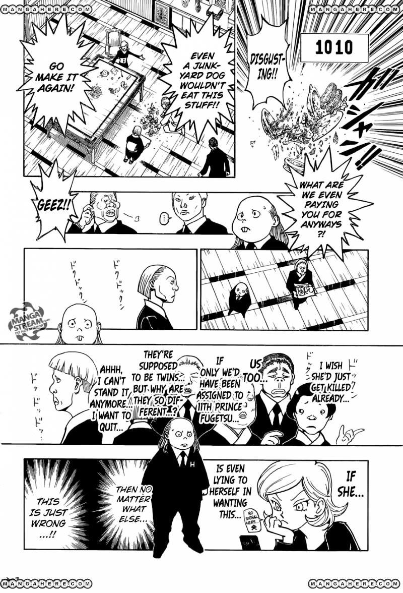 Hunter X Hunter Chapter 366  Online Free Manga Read Image 5