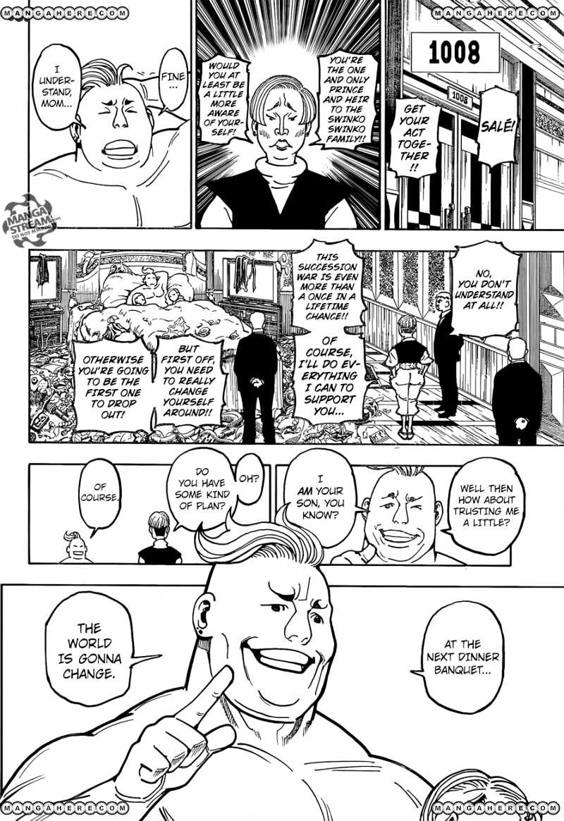 Hunter X Hunter Chapter 366  Online Free Manga Read Image 7