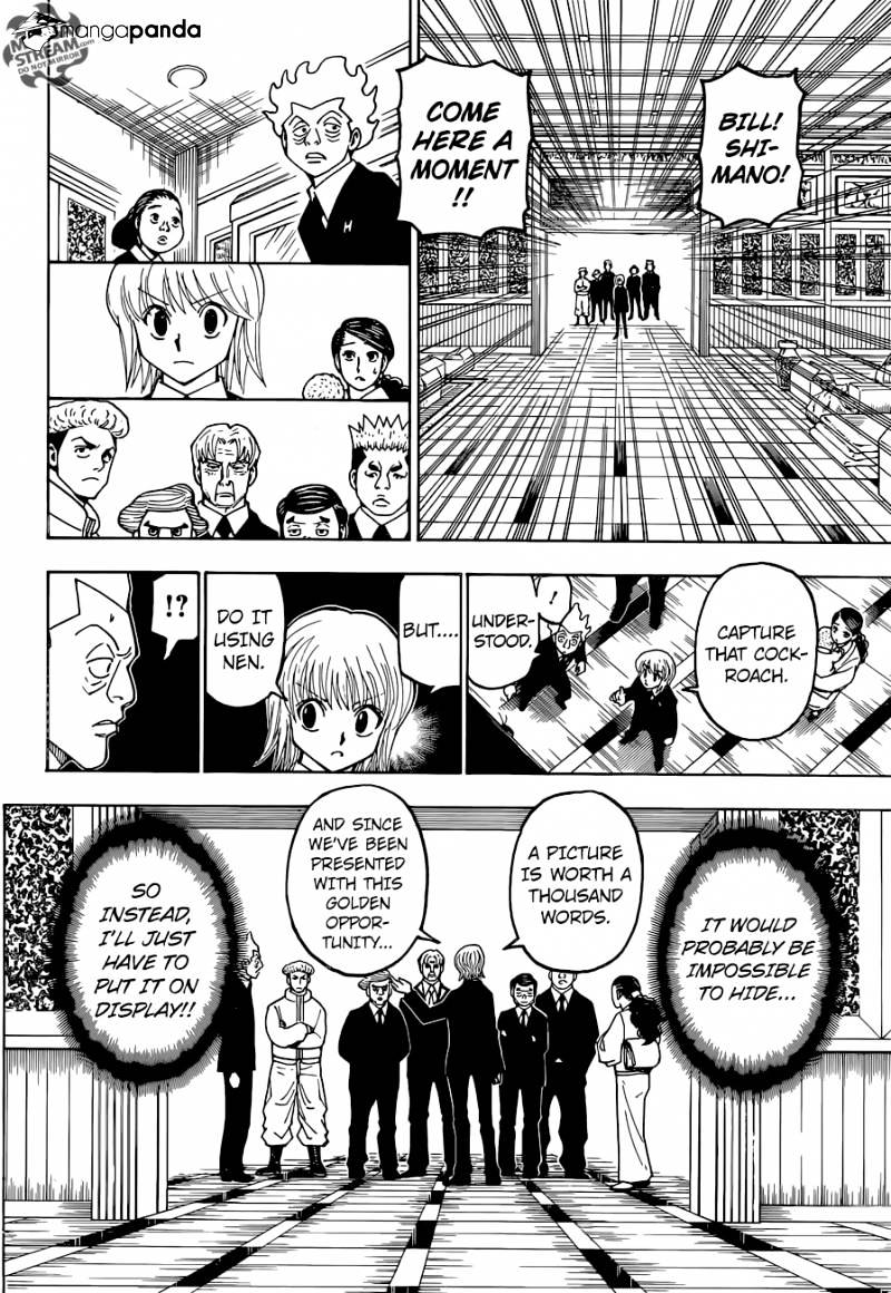 Hunter X Hunter Chapter 367  Online Free Manga Read Image 10