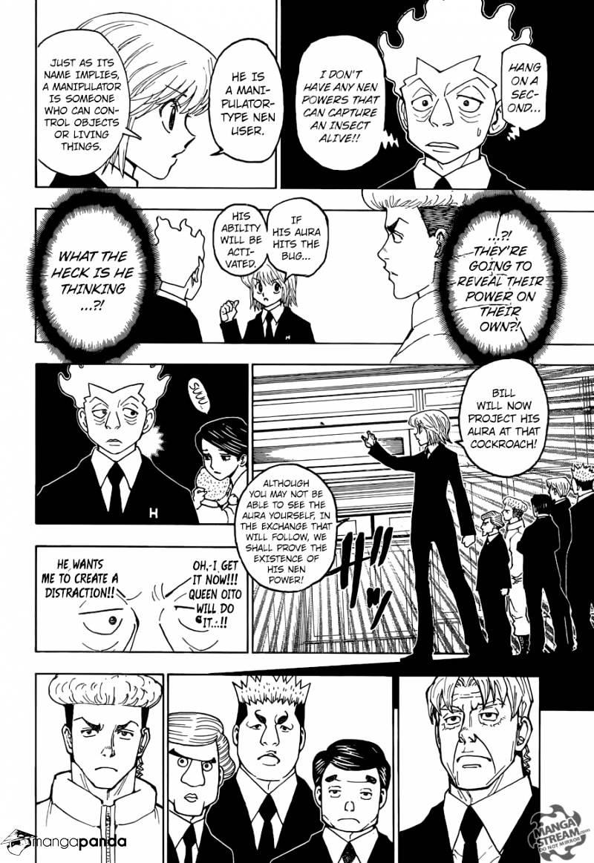 Hunter X Hunter Chapter 367  Online Free Manga Read Image 12
