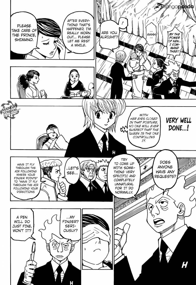Hunter X Hunter Chapter 367  Online Free Manga Read Image 16