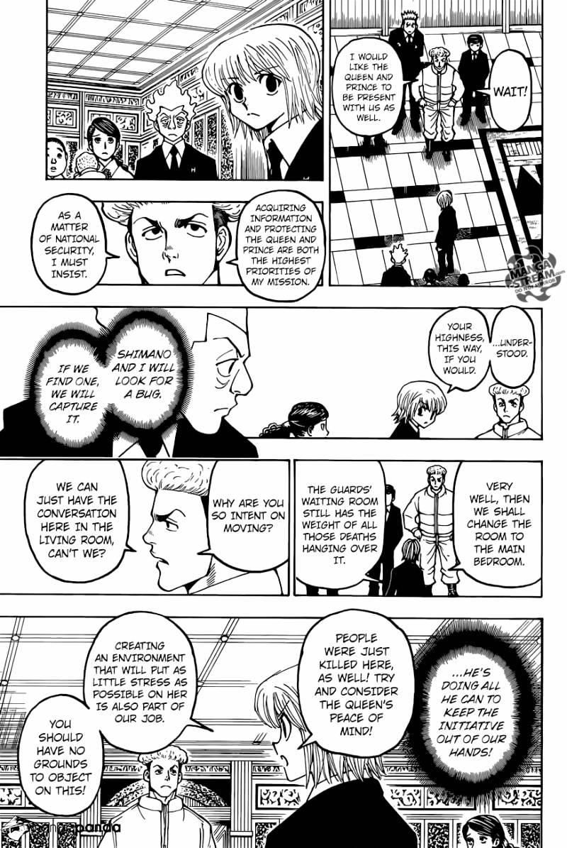 Hunter X Hunter Chapter 367  Online Free Manga Read Image 5