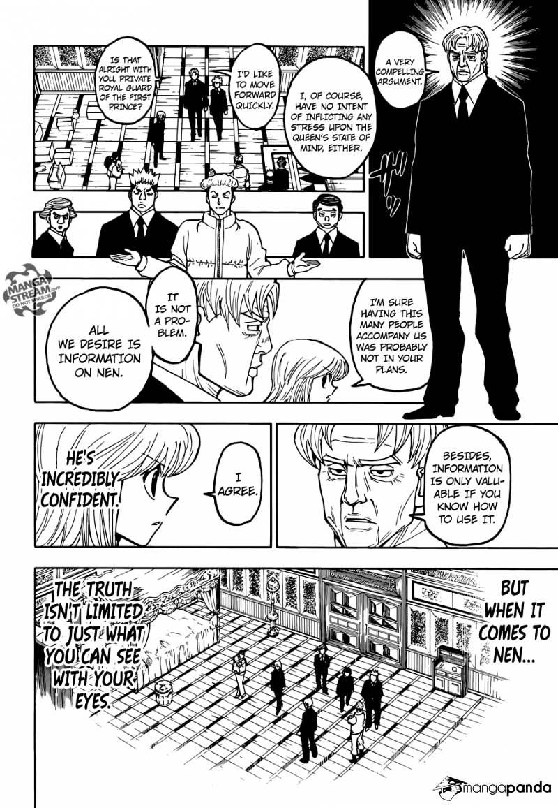 Hunter X Hunter Chapter 367  Online Free Manga Read Image 6