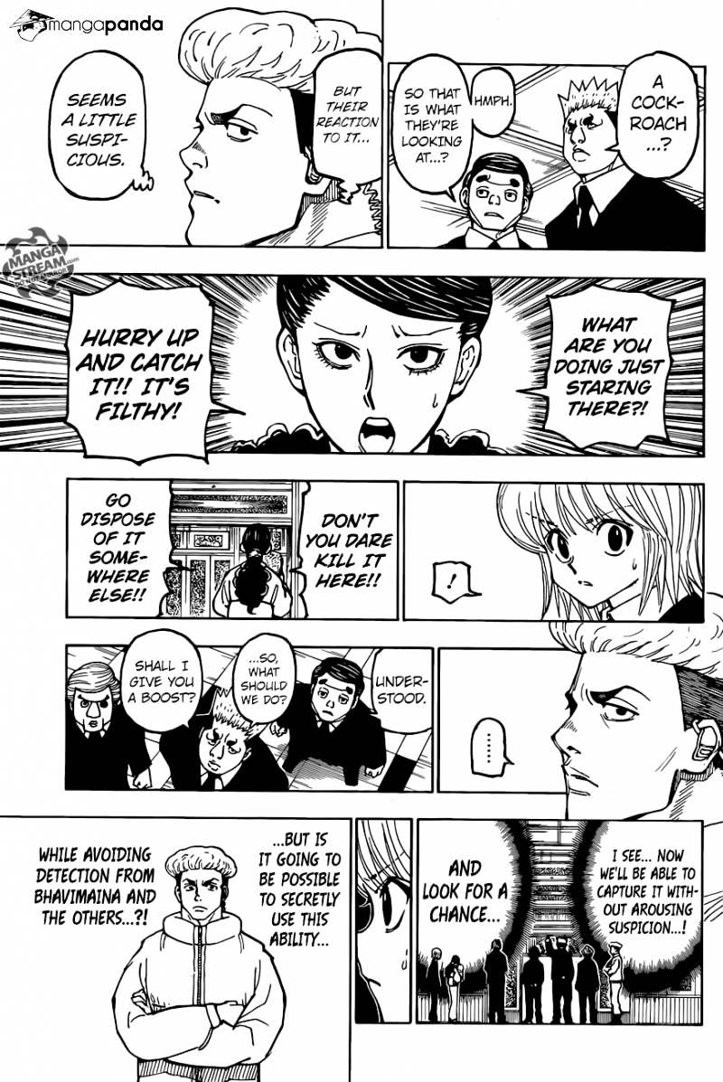 Hunter X Hunter Chapter 367  Online Free Manga Read Image 9