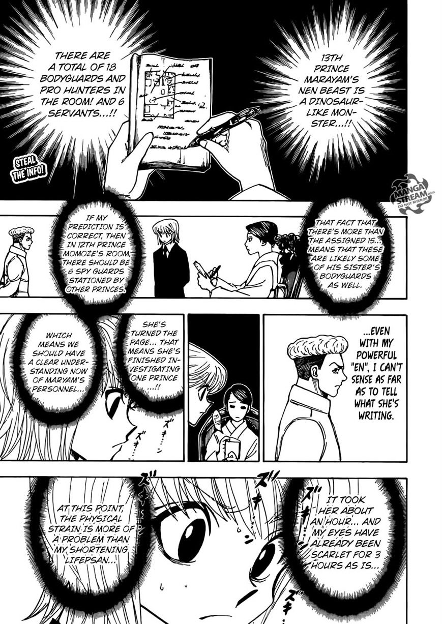 Hunter X Hunter Chapter 368  Online Free Manga Read Image 1