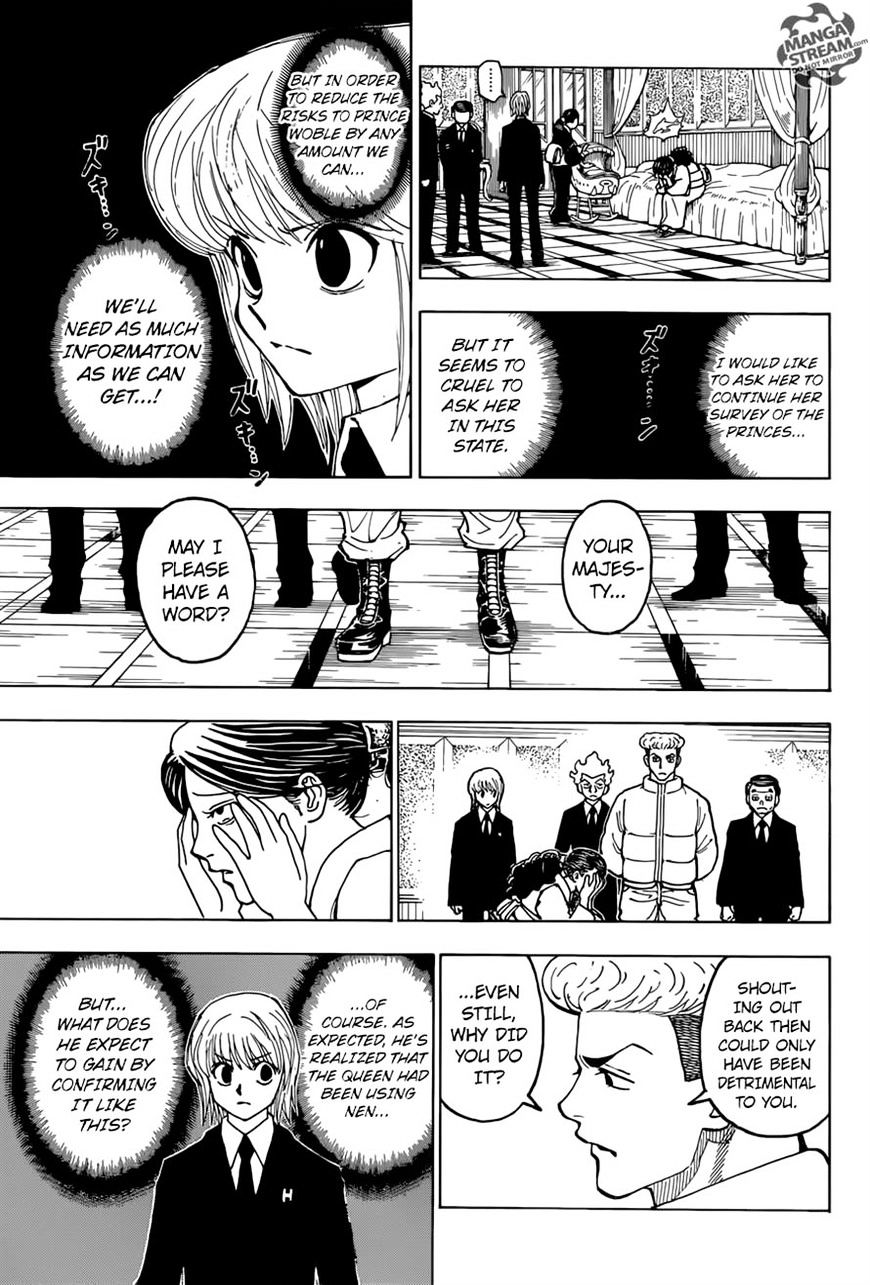 Hunter X Hunter Chapter 368  Online Free Manga Read Image 10